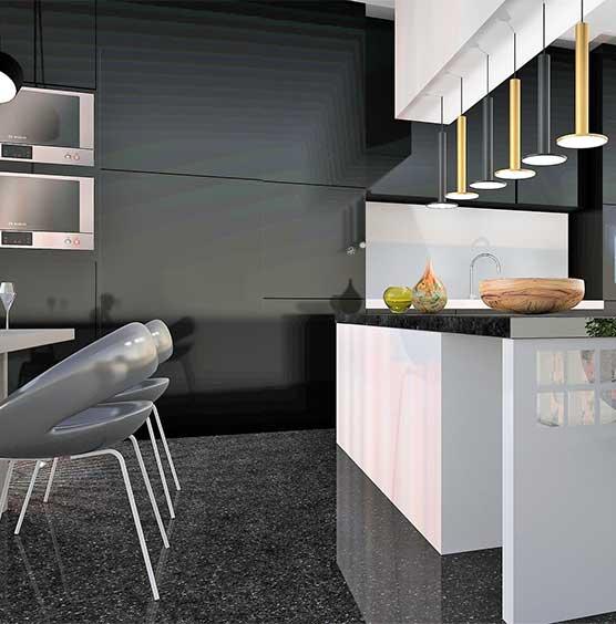 granieten keuken vloer laten schoonmaken SchoneVloeren.nl