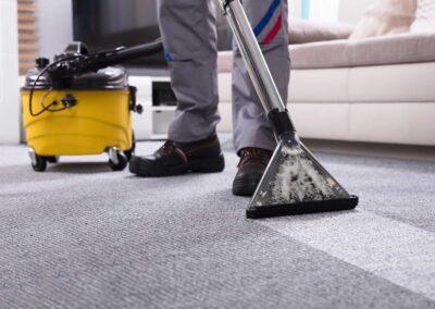 Groot onderhoud tapijt