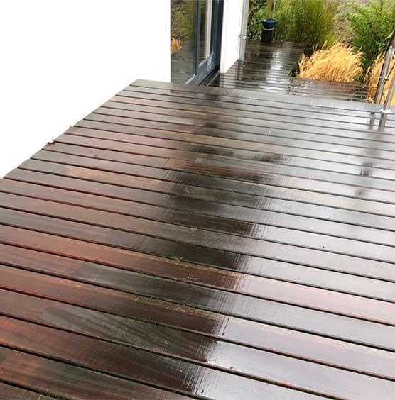 houten vlonders terrassen schoon reinigen schonevloeren.nl