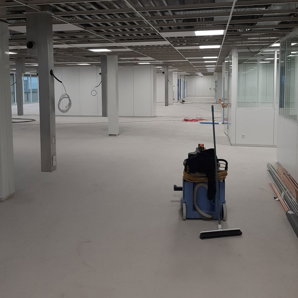 Bouwoplevering Cleanroom Alkmaar